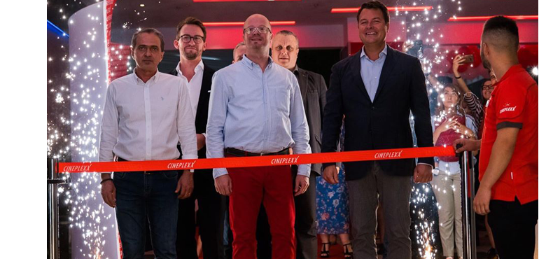 Cineplexx Satu Mare opening ceremony in 2019
