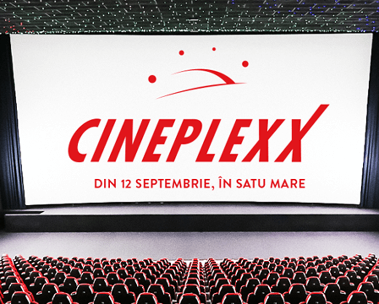 Cineplexx movie theater opening in Satu Mare