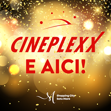 Cineplexx Satu Mare launch campaign social media visual, 2019