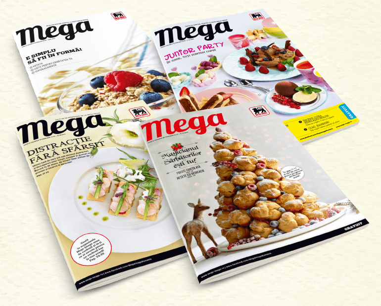 Mega customer magazine became the flagship communication project of the company