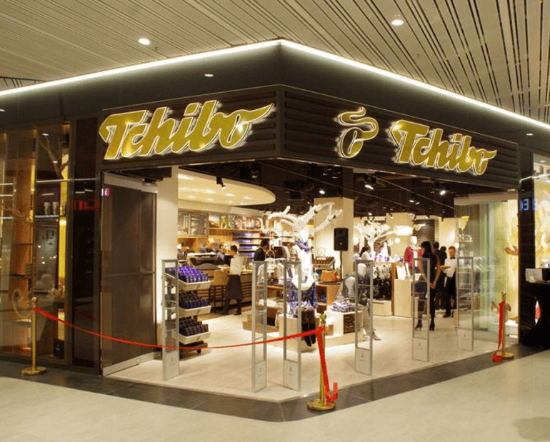 Tchibo Romania Outlet in Promenada Mall, Bucharest
